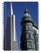 San Francisco Buildings Spiral Notebook