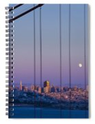 San Francisco Moon Spiral Notebook