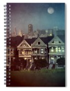 San Francisco Night Spiral Notebook