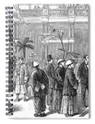 San Fransisco Hotel, 1878 Spiral Notebook