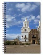 San Xavier Del Bac Tucson Spiral Notebook