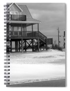 Sand And Stilts Spiral Notebook