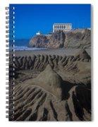 Sand Dolphin Spiral Notebook