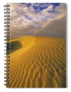 Sand Dune And Sky Spiral Notebook