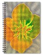 Sand Flower Spiral Notebook