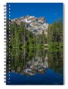 Sand Pond Panorama Spiral Notebook