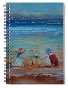Sandcastle Spiral Notebook