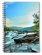 Sandstone At New River Spiral Notebook