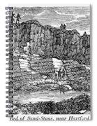 Sandstone Quarry, 1840 Spiral Notebook