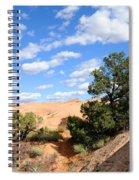 Sandstone Sky Spiral Notebook