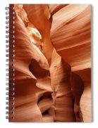 Sandstone Slots Spiral Notebook
