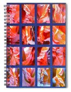 Sandstone Sunsongs Rockin Red Spiral Notebook