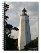 Sandy Hook Lighthouse Spiral Notebook