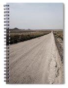 Sandy Road Spiral Notebook