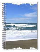 Sandy Shores Of Oregon Spiral Notebook