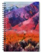 Sangre De Cristos -- Cezanne Spiral Notebook