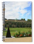 Sanssouci Garden Spiral Notebook