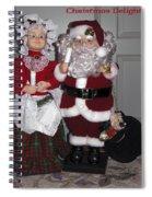 Santa Couple Spiral Notebook