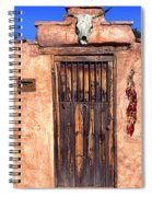 Santa Fe Door Spiral Notebook