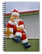 Santa Is Waiting For You Spiral Notebook
