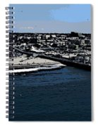 Santa Monica Pier Spiral Notebook