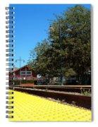 Santa Paula Train Station Spiral Notebook