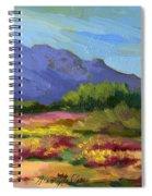 Santa Rosa Mountains In Spring Spiral Notebook