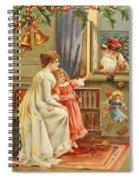 Santa's Gifts Spiral Notebook