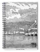 Santiago De Cuba, 1853 Spiral Notebook