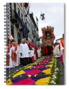 Santo Cristo Dos Milagres Spiral Notebook