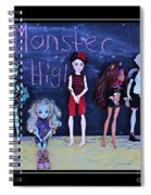 Sarah's Monster High Collection Spiral Notebook