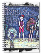 Sarah's Monster High Collection Sketch Spiral Notebook
