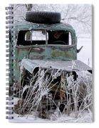 Saranac Cities Service Truck Spiral Notebook