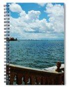 Sarasota Bay In Florida Spiral Notebook