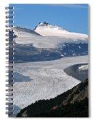 Saskatchewan Glacier Banff National Park Spiral Notebook