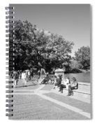 Saturday In The Park Spiral Notebook