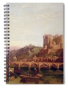 Saumur -  By The Loire Valley  Spiral Notebook