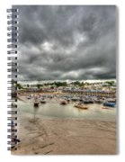 Saundersfoot Harbour Spiral Notebook