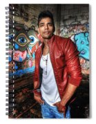 Saurabh4 Spiral Notebook