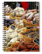 Sausages For Sale Spiral Notebook