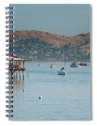 Sausalito Harbour Spiral Notebook