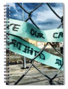 Save Our Cathedral  Spiral Notebook