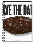 Save The Date Spiral Notebook