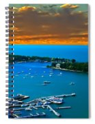 S.bass Is. Lake Erie Spiral Notebook