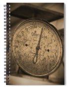 Scale Spiral Notebook