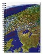 Scandinavia Spiral Notebook