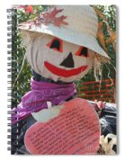 Scarecrow Andy Spiral Notebook