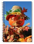 Scarecrow Boa Spiral Notebook
