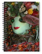 Scarecrow Bounty Spiral Notebook