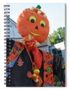 Scarecrow Candy Spiral Notebook